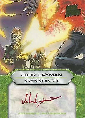 "Mars Attacks Invasion - ""John Layman"" Comic Creator Autograph Card"