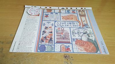 Cross Stitch Chart Cat Sampler Chart A House Without A Cat Is Not A Home