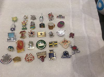 Badges and pin badges mainly enamel x 32
