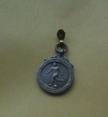 Thames United Football Club Silver Medal H W Jeapes Hallmarked Birmingham 1937