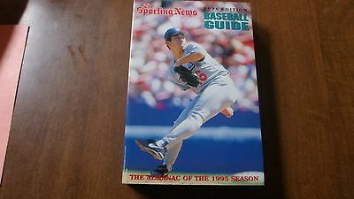 The Sporting News Baseball Guide 1996 -- Hideo Nomo on front cover