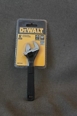 DeWalt DWHT0289 adjustable wrench 6 inch. New in a package.
