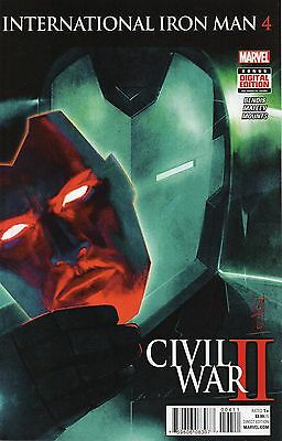 International Iron Man #4 (NM)`16 Bendis/ Malvee