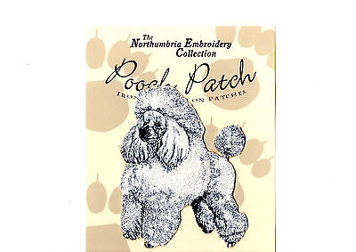 Poodle  EMBROIDERED  Pooch Patch