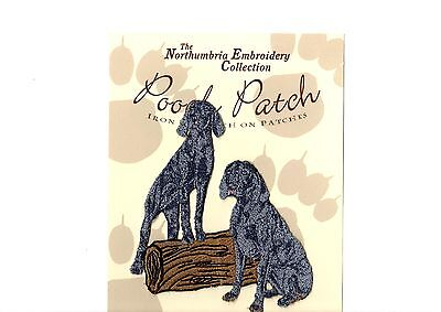 Weimeraners EMBROIDERED  Pooch Patch