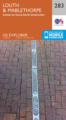 Louth and Mablethorpe Explorer Map 283 Ordnance Survey