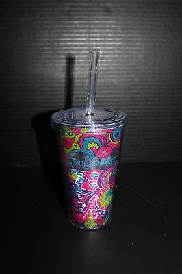 Longaberger Acrylic Cup in Fantasy #999351902 NEW