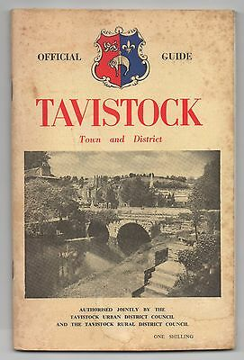 Tavistock Devon Official Town and District Guide - 1950,s