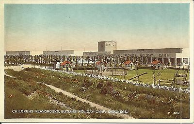 BUTLINS HOLIDAY CAMP SKEGNESS THE CHILDRENS PLAYGROUND 1930s-40s H.1510 PC