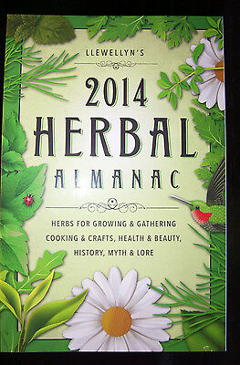 Brand New! 2014 Herbal Almanac Herbs Crafts Myth & Lore Out Of Print! Clearance!