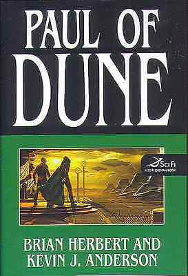 Brian Herbert Dune:paul Of Dune Book 6 Hardcover 1St Edition 2008 F/vfine New