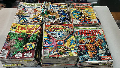 FANTASTIC FOUR / 146-414 / 238 Comic Books - Most VF or Better condition !!