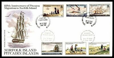 May 3, 1981 Norfolk Island Pitcairn Hundred 25Th Anniversary Nice Cover