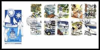 Cayman Islands Transport Ships Illustrated First Day Cover With Cachet