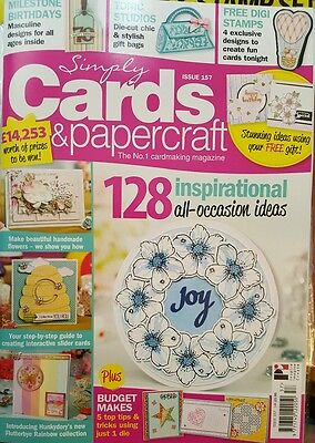 simply cards & papercraft magazine - issue 157 - no free gift