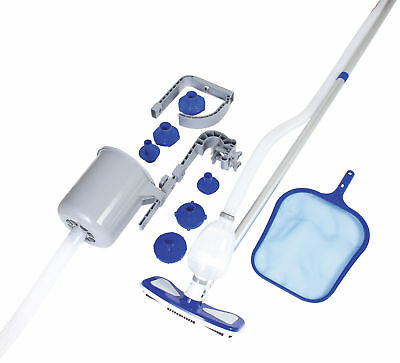 Bestway Deluxe Pool Maintenance Kit Swimming Vacuum Skimmer Pole