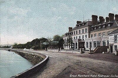 e northern ireland related postcard ulster irish down rostrevor