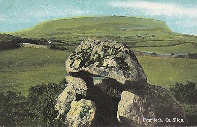 e irish postcard ireland sligo cromlech