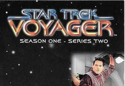 Star Trek Voyager Season One Series Two Komplettes Trading Card Set 1995