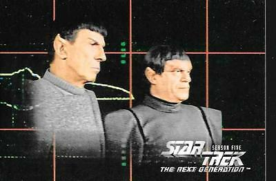 Star Trek The Next Generation Season Five Komplettes Trading Card Set No.421-528