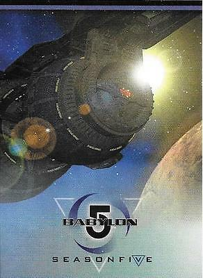 Babylon 5 Season Five Komplettes Trading Card Set 1998