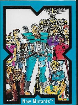 X-Force Komplettes Comic Images Trading Card Set 1991