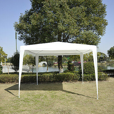 10 ×10ft Outdoor Event Shelter Canopy Wedding Shade Garden Party Tent Gazebo