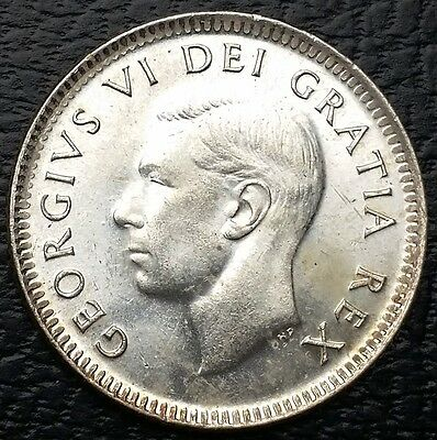 1950 Canada 80% Silver Dime - 10 Cents  **UNC Condition** - Free Combined S/H