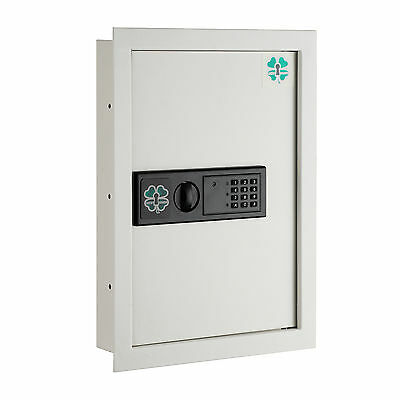 Lucky Guard Electronic Wall Safe .63 CF Hidden Large Safes Jewelry Security