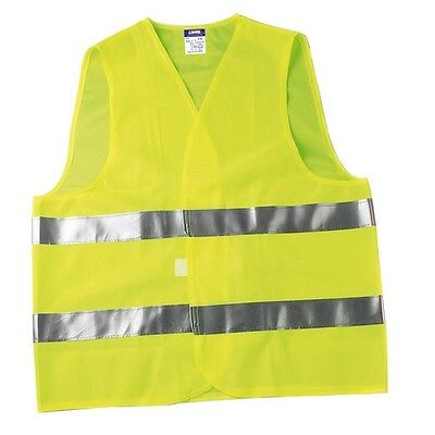 Vest Jacket Emergency Reflective Yellow Colour One Size Universal