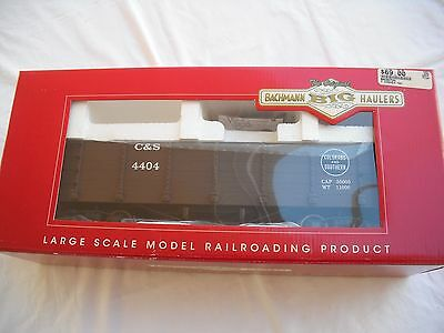 """Bachmann 93724 """"G"""" Gondola Car, Colorado and Southern C&S 4404, Large G Scale"""
