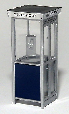 Telephone Booth   phone  1/43   O scale On30 On3 Figures People  *
