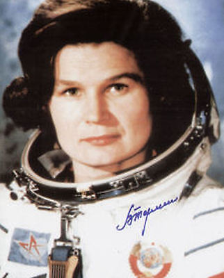 """Valentina Tereshkova ` 1st woman in space` signed 8x10"""" OBTAINED IN PERSON No.5"""