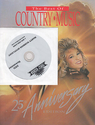 Marty Robbins RARE Fans Newsletter DVD & Best Of Country & Western Book Bundle