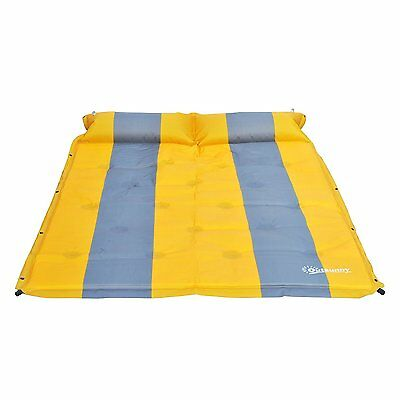 Outsunny Self-Inflating Camp Pad Air Mattress Sleeping Pad Double Bed Outdoor