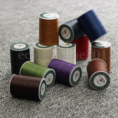 78M 0.8mm Waxed Wax Thread Polyester Cord Sewing Craft Leather Caft Stitching