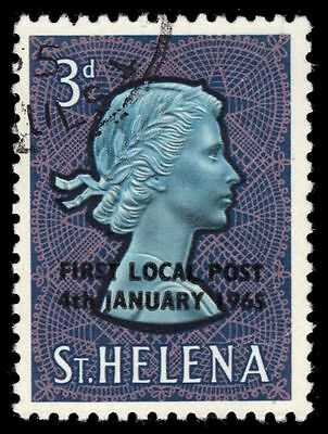 "ST. HELENA 177 (SG194) - First Local Post ""Queen Elizabeth II"" (pf93975)"