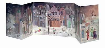 Silent Night Fold-Out Advent Calendar Family Advent Calendar Month View
