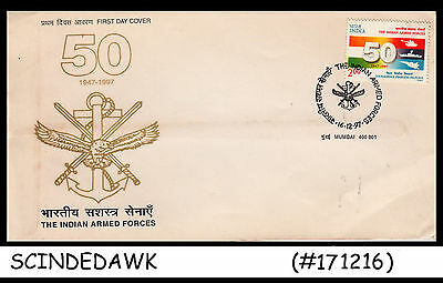 India - 1997 The Indian Armed Forces - Fdc