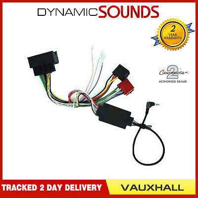 PIONEER Car Stereo Steering Wheel Interface Kit for Vauxhall Opel Astra 2004-10