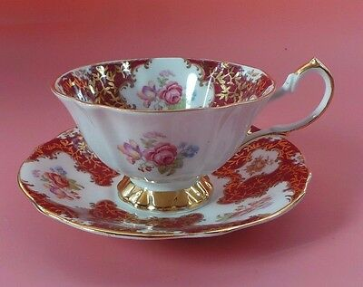 Queen Anne Cabinet Cup And Saucer LADY ELEANOR