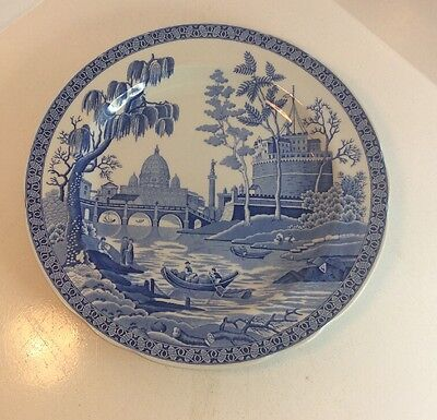 """Lovely Spode Blue Room Collection """" Rome """" Plate"""