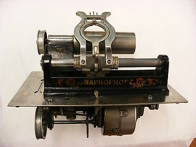 Original Columbia Graphophone Cylinder Phonograph - Model AZ - Mechanism Only