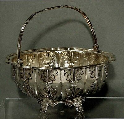 Chinese Export Silver Basket                               KHECHEONG