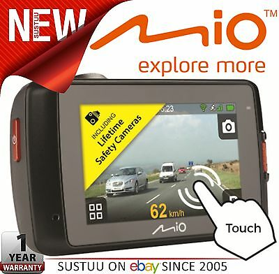 "Mio MiVue 658 2.7"" Touch Screen In Car Dashcam GPS Extreme HDR Accident Recorder"