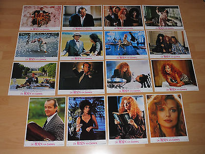 WITCHES OF EASTWICK - 16 lobby cards ´89 - JACK NICHOLSON Michelle Pfeiffer CHER