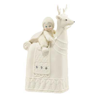 Snowbabies The Reigning Reindeer Figurine New Boxed 4043519