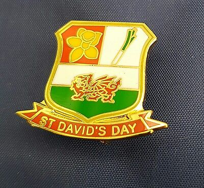 Wales/Welsh St David's Day Football/Rugby  Badges