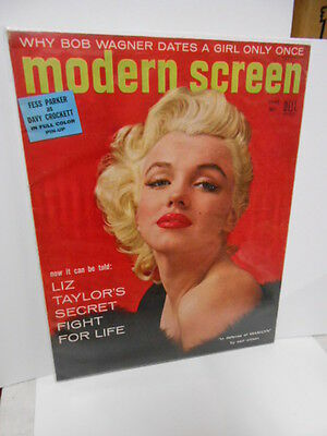 Marilyn Munroe rare Modern Screen movie magazine 1955