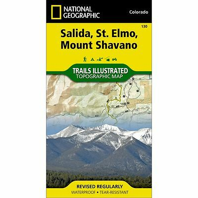 National Geographic Trails Illustrated: Salida/ St. Elmo/ Mount Shavano Map 130